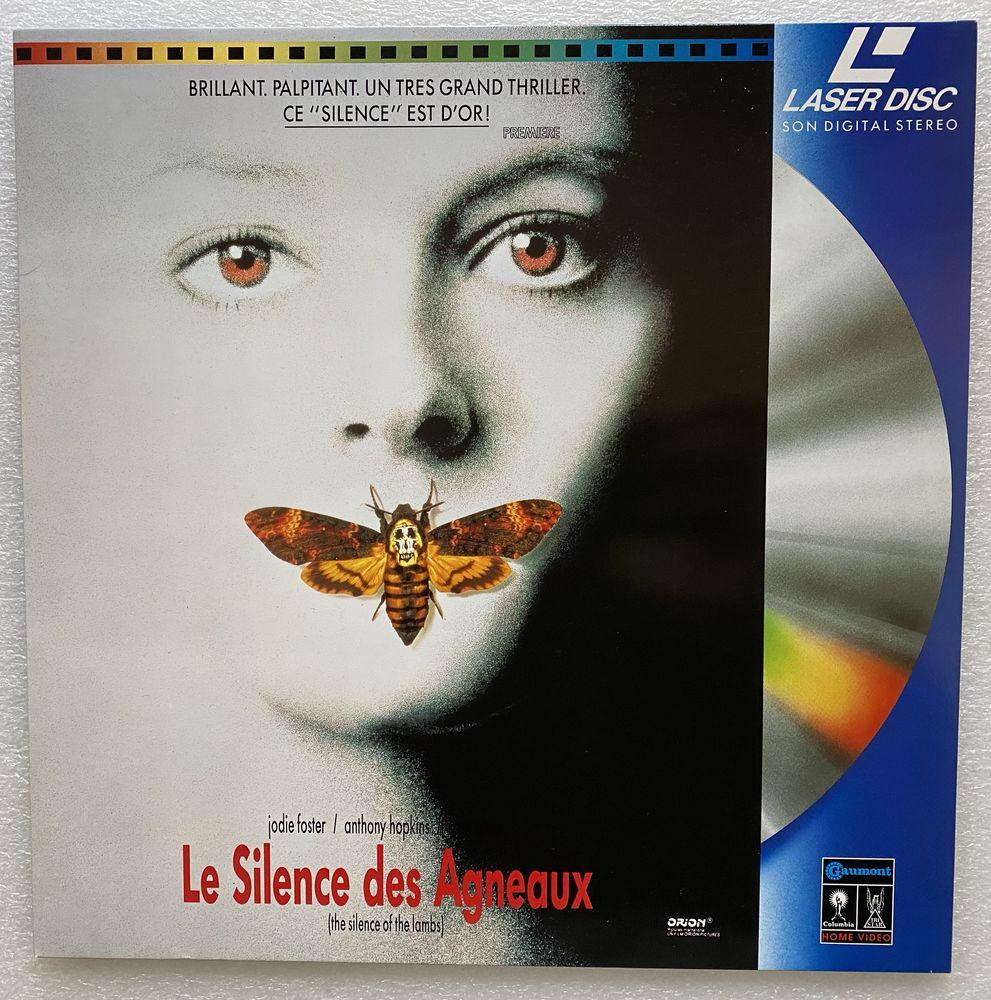 LE SILENCE DES AGNEAUX - Laserdisc - Jodie FOSTER, Anthony  12 Joué-lès-Tours (37)