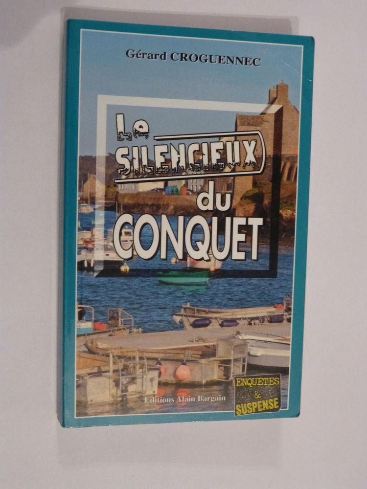 LE SILENCIEUX DU CONQUET  roman policier  BRETON BARGAIN 4 Brest (29)