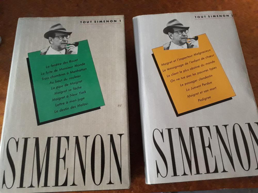 SIMENON TOME 1 ET 2 6 Tarbes (65)