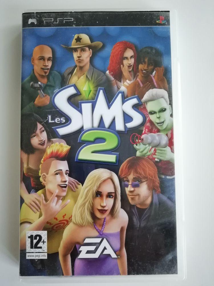 Jeu PSP Les Sims II 5 Le Plessis-Robinson (92)