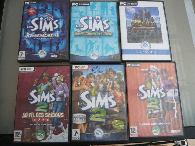 PC 6 CD Rom les Sims 5 Bordeaux (33)