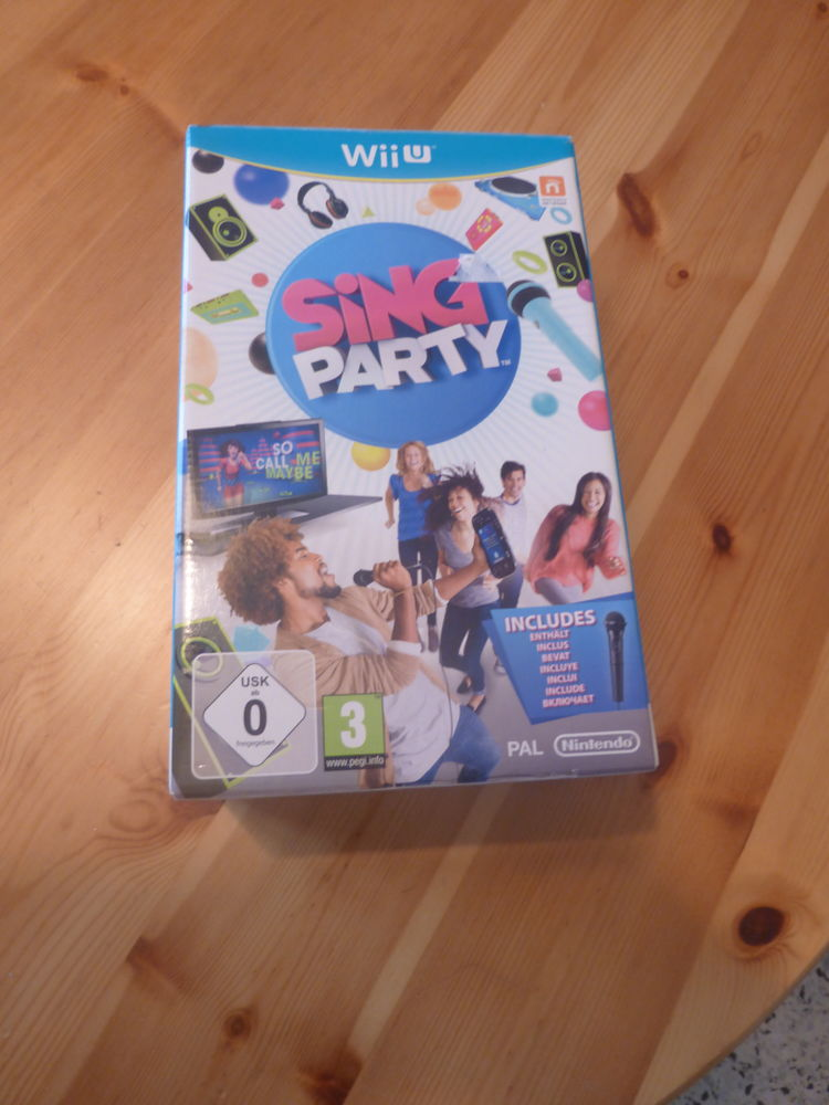 Jeu wii u sing party comme neuf 12 Courthézon (84)