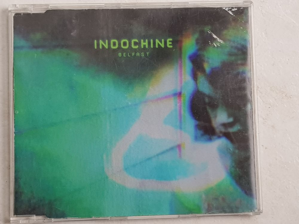 CD single EP - Indochine : Belfast 10 Venansault (85)