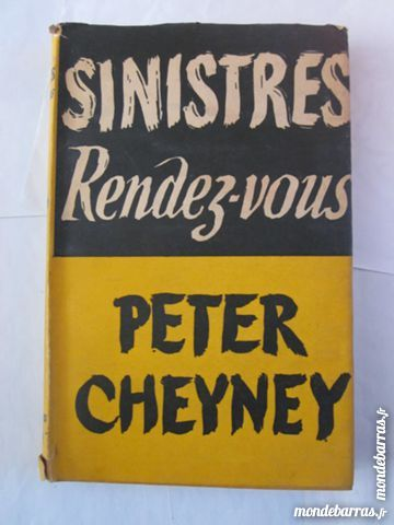 SINITRE RENDEZ VOUS  par  PETER CHEYNEY 4 Brest (29)