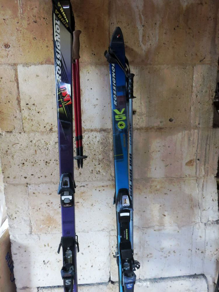 Skis Alpins Rossignol Kevlar    120 Mareuil (24)
