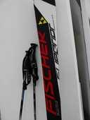 Skis FISCHER Superior SC + batons SCOTT 350 Tourrettes-sur-Loup (06)