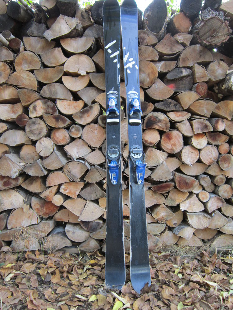 Skis Freestyle Line Futur Spin - Fix Rossignol Pivot 15 150 Gap (05)
