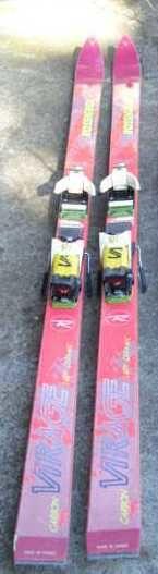 Skis Rossignol Carbon Virage 30 Monnetier-Mornex (74)