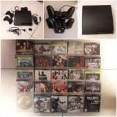 PS3 slim CECH 3004A 150Gb + 25 jeux 150 Éragny (95)