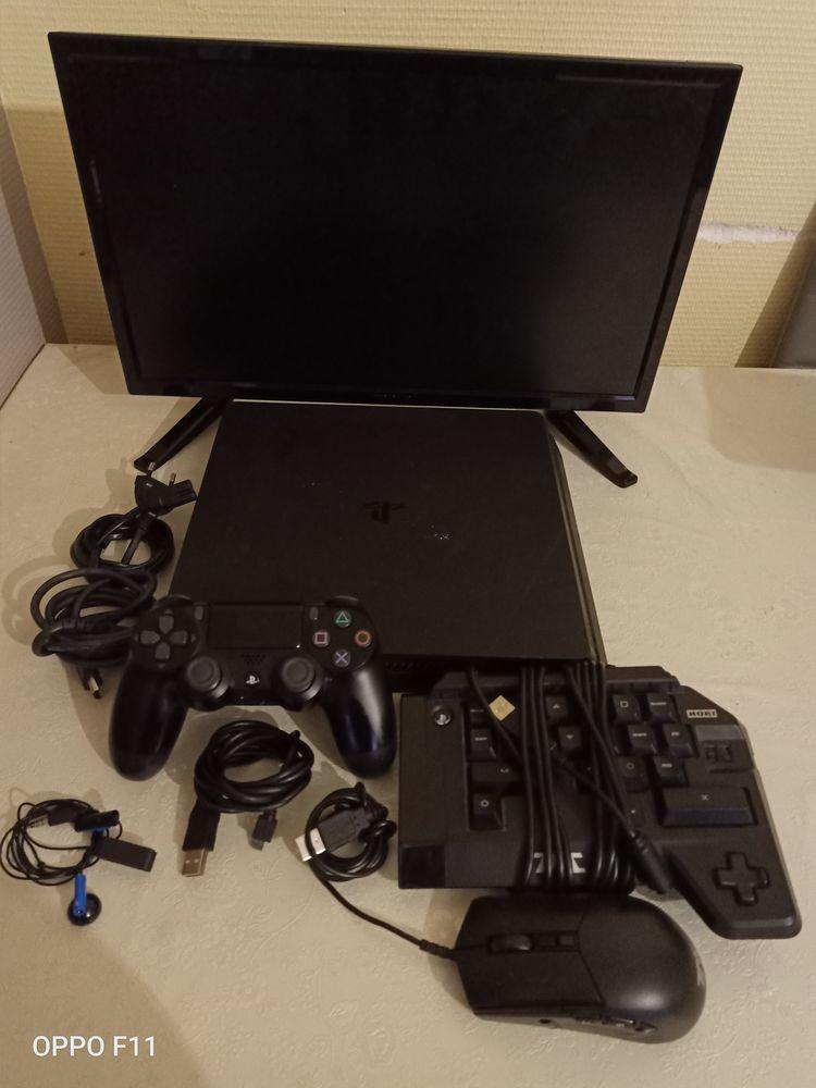 Je ma PS4 slim 1to+écran +clavier souris horri 4+9jeux 250 Paris 12 (75)