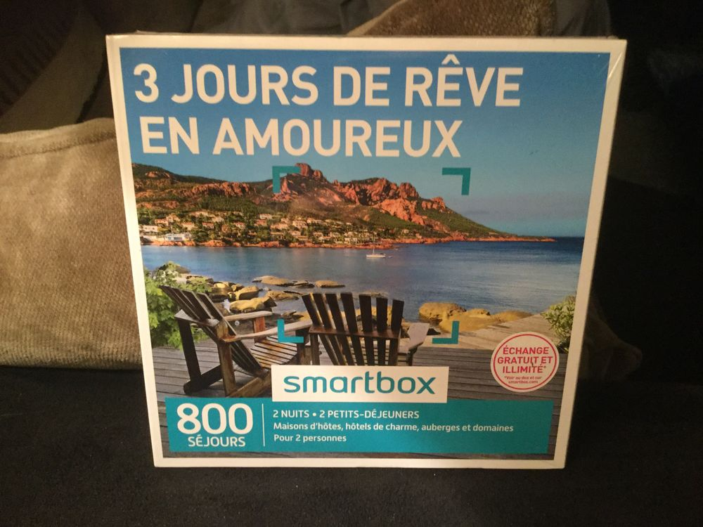 Achetez Smart Box 3 Jours Neuf Revente Cadeau Annonce Vente A