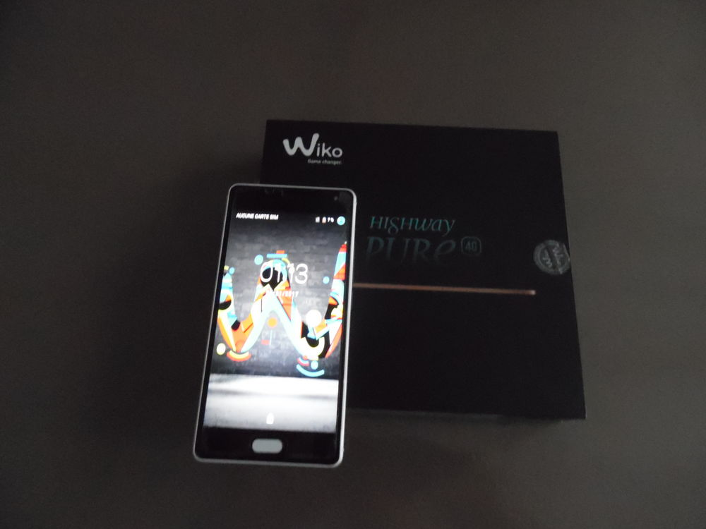 Smartphone WIKO HIGHWAY PURE, EXCELLENT ETAT 100 Abbeville (80)
