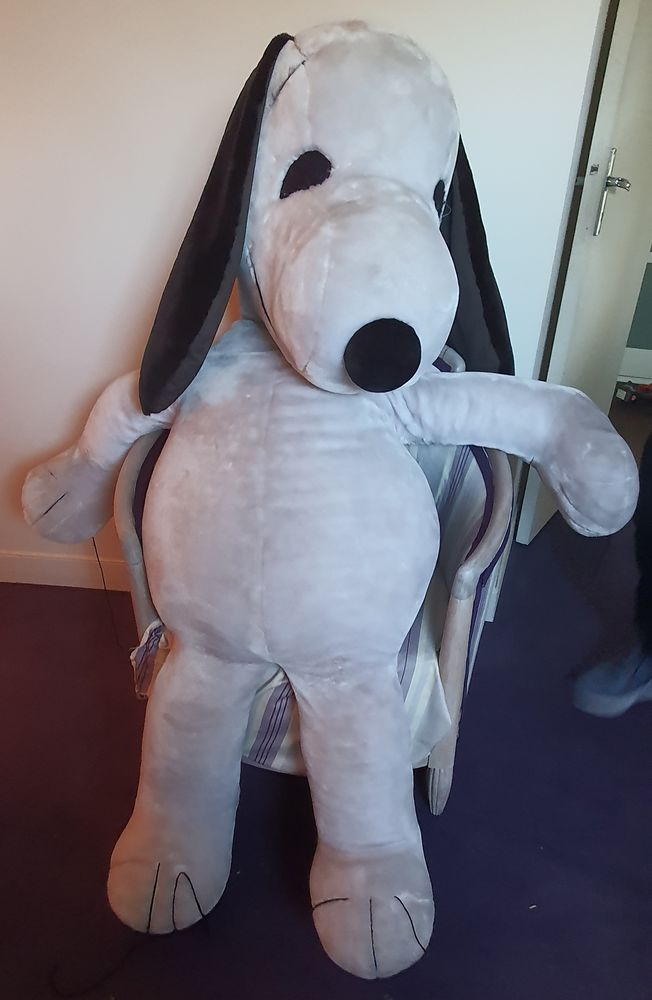 Snoopy TRES RARE peluche vintage  collector taille hors norm 250 Montlignon (95)
