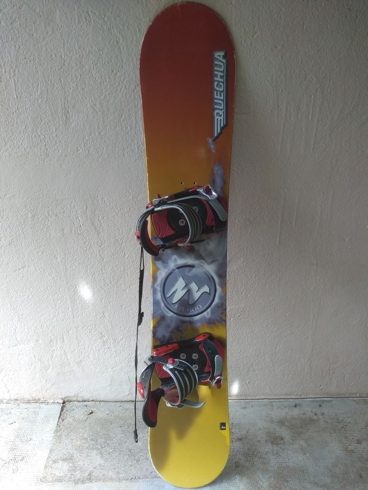 Snowboard Quechua 140 Cabestany (66)