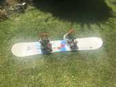 Snowboard swiss 140 avec chaussure  80 Dinan (22)