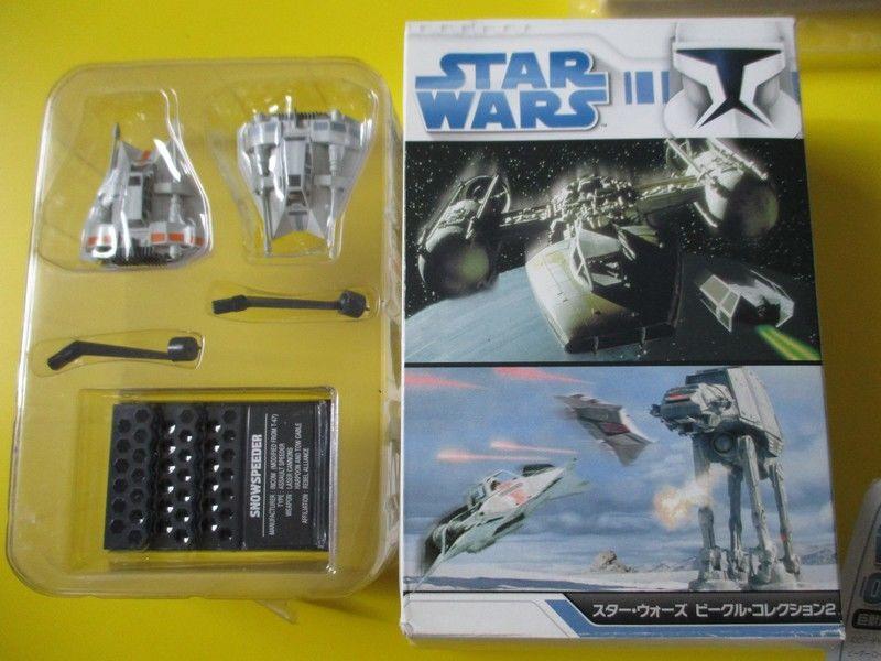 snowspeeder star wars 2 vaisseauX figurines disney 26 Lognes (77)