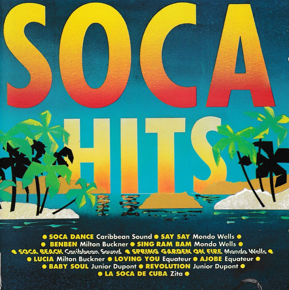 CD    Soca Hits  Compilation 5 Bagnolet (93)
