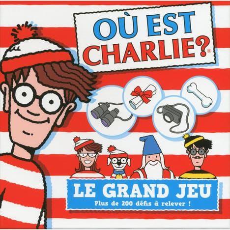 Jeu Société Ou est Charlie le Grand Jeu 200 Cartes 10 Montpellier (34)