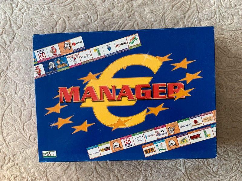Jeu de société  Euromanager  10 Rennes (35)