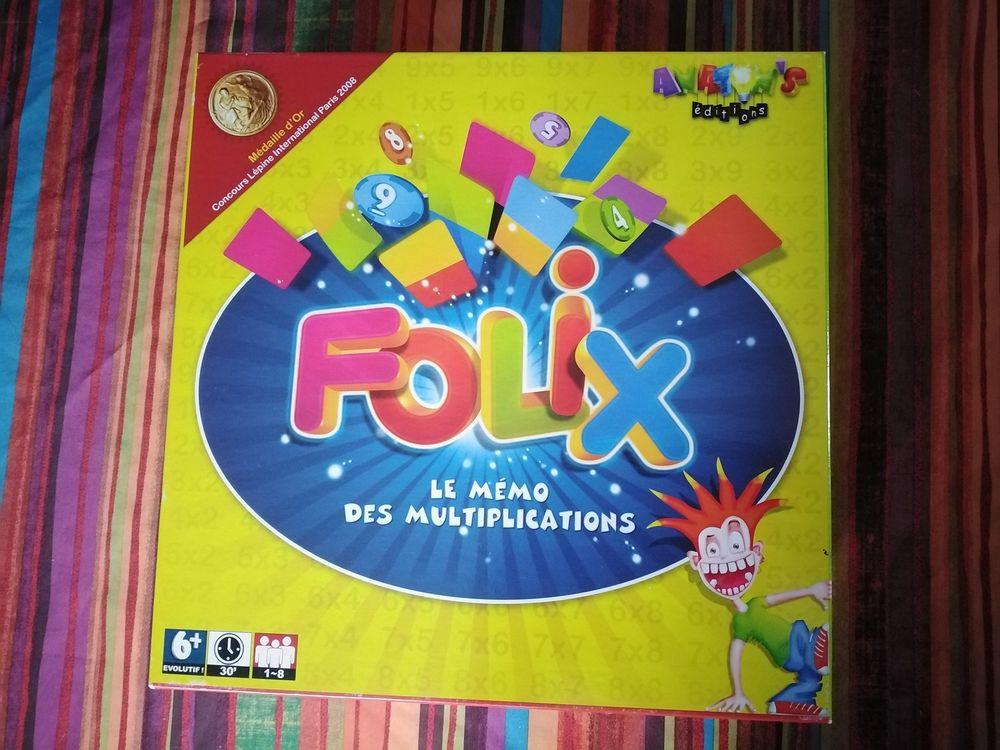 jeu de société  Folix, le mémo des multiplication  10 Étueffont (90)