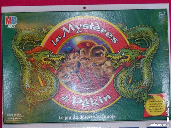 Jeu société Les Mystères de Pékin 5 Grenoble (38)