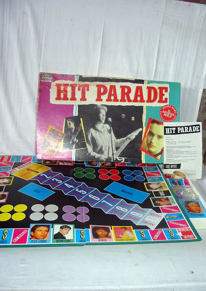Jeu de société  Hit parade  Réf: J30 10 Pantin (93)