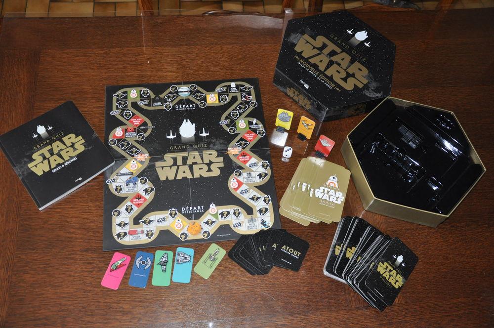 Jeu de société Star Wars HACHETTE HEROES Grand Quiz N 25 Brousseval (52)