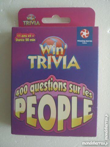Jeu de Société - Win'Trivia People 1 Strasbourg (67)