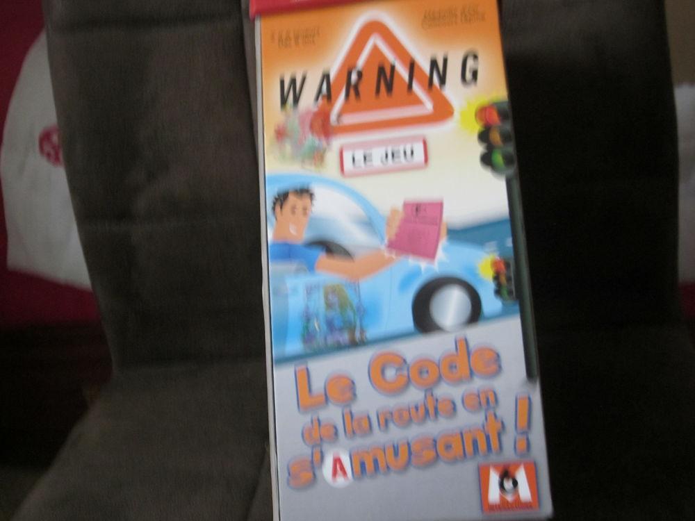 Jeu de société WARNING - code de la route 4 Soucelles (49)