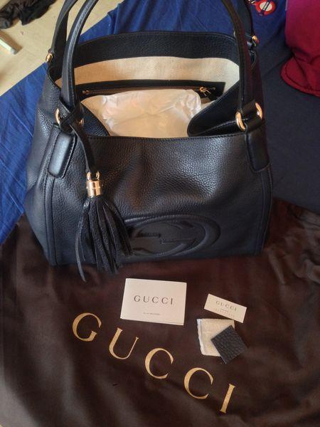 305c07d1c5d6 Achetez sac soho gucci (bleu neuf - revente cadeau, annonce vente à Paris  (75) WB151633896