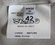 Top soie gris pale MAISON MARTIN MARGIELLA 100% soie T.38 fr Vêtements