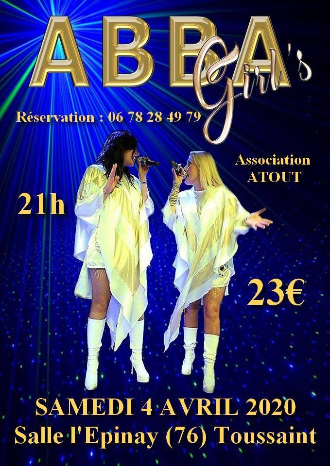 Soirée Hommage au groupe ABBA 23 Toussaint (76)