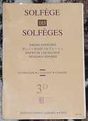 [solfège] Solfège des solfèges n°3D, Lavignac, éd. Lemoine 4 Lens (62)