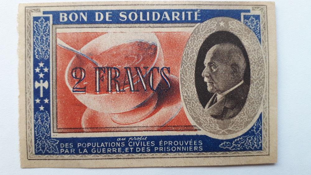 Bon de solidarité 1941 16 Salon-de-Provence (13)