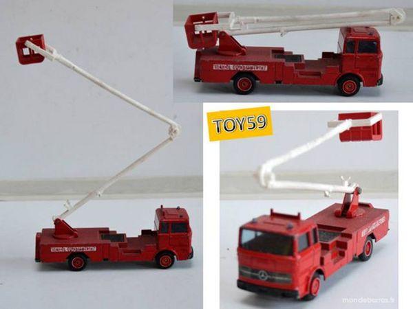 Pompier Mercedes Solido Camion Pompier Solido Camion ARjL54qc3