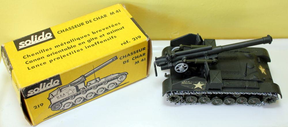 SOLIDO chasseur de char M41 neuf en boite ref 219