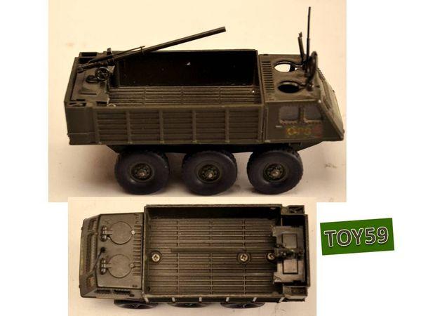 SOLIDO militaire BERLIET ALVIS n°247 de 1975-toy59 30 Mons-en-Barœul (59)