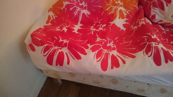 achetez sommier deux places occasion annonce vente paris 75 wb150239366. Black Bedroom Furniture Sets. Home Design Ideas