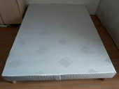 Sommier tapissier à lattes recouvertes EPEDA 140 x 190cm  65 Paris 19 (75)