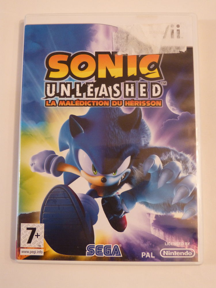JEU WII SONIC UNLEASHED 15 Brest (29)