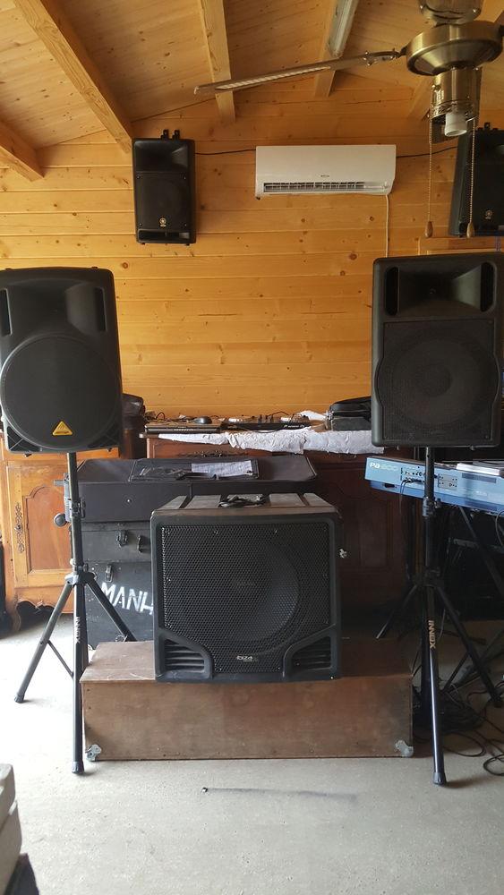 Sonorisation amplification et enceintes 680 La Chapelaude (03)
