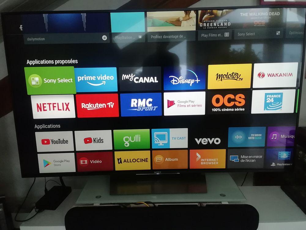 TV Sony kd 65XD8505 750 Séez (73)