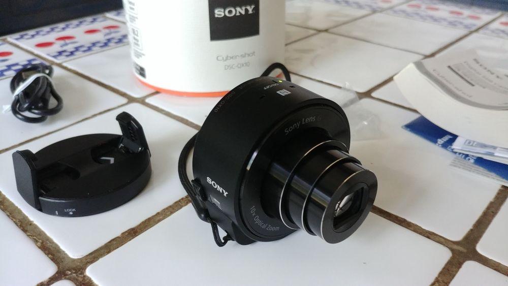 Sony Cyber-shot DSC-QX10 (objectif connecté) Photos/Video/TV