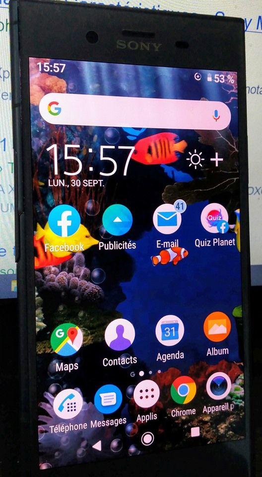 Sony Erickson Xperia xZ1 Téléphones et tablettes