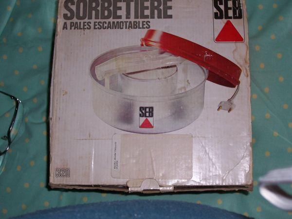 SORBETIERE  SEB  10 Soullans (85)