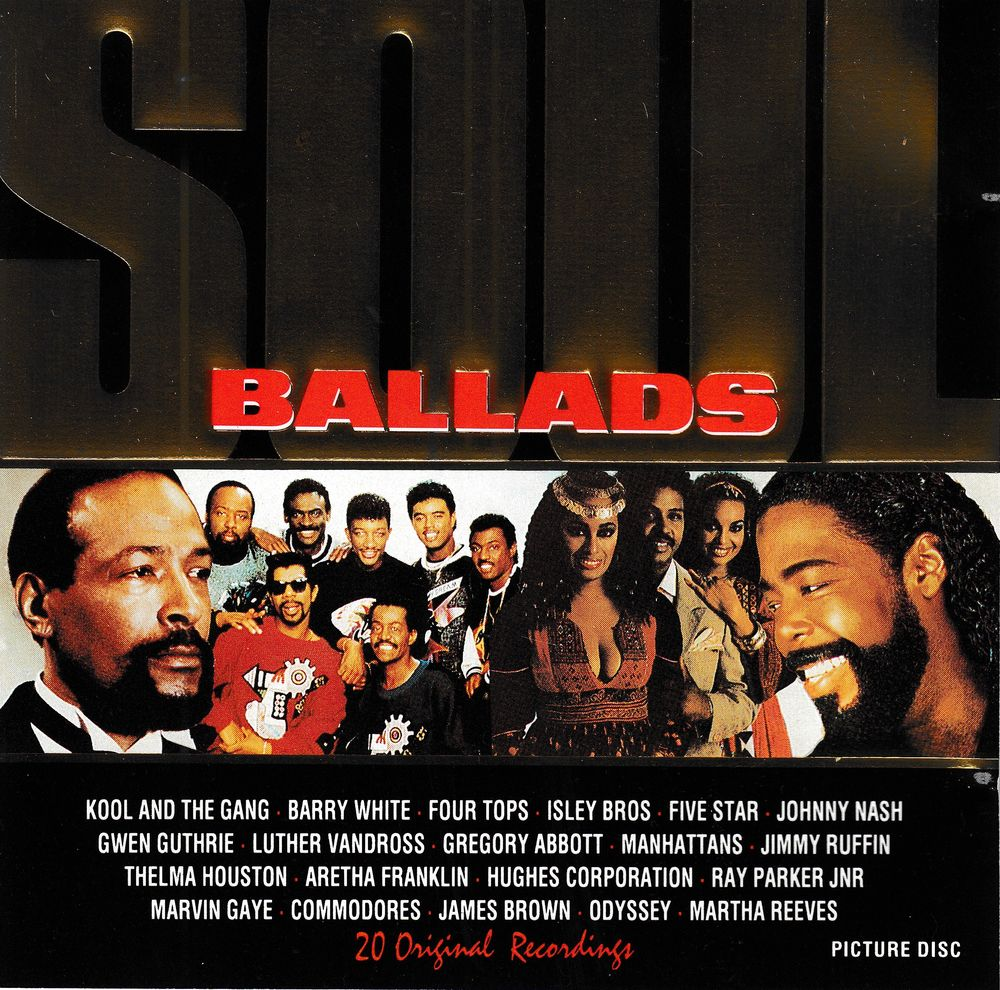 CD    Soul Ballads     Compilation 5 Bagnolet (93)
