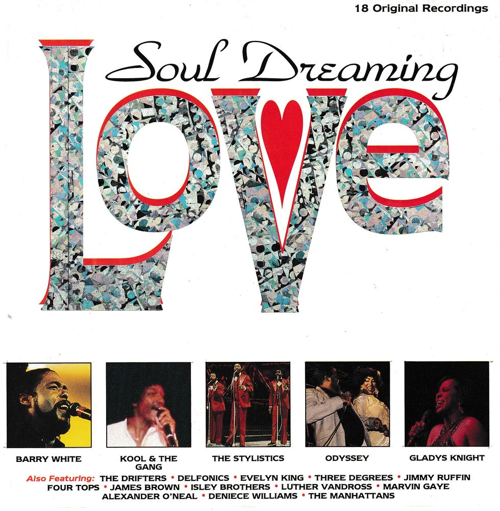 CD   Soul Dreaming-Love     Compilation 5 Bagnolet (93)