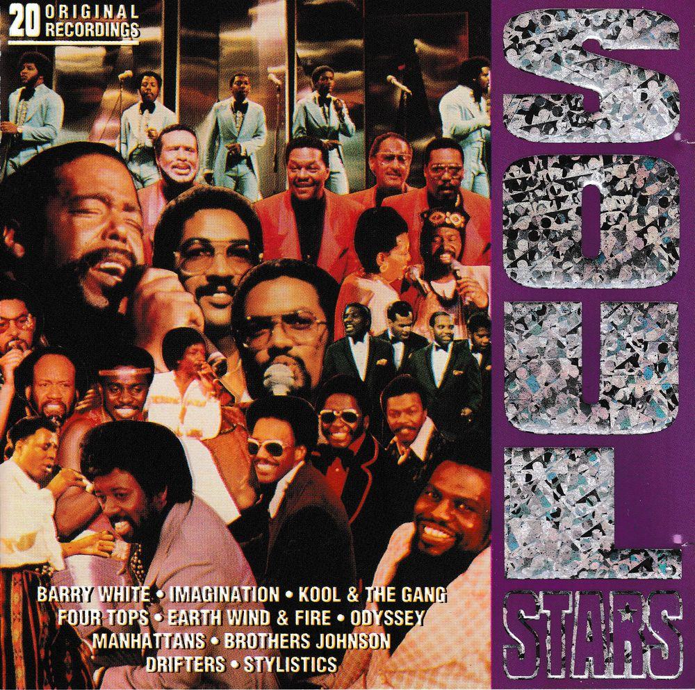 CD    10 Soul Star N°2     Compilation 6 Bagnolet (93)