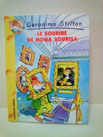 le sourire de Mona sourisa  Geronimo Stilton 2 Reims (51)