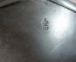 LOT de 6 SOUS-ASSIETTES étain DE TONGE France (valeur 769€) Décoration